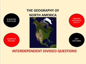 The Geography of North America: Interdependent Divided Que