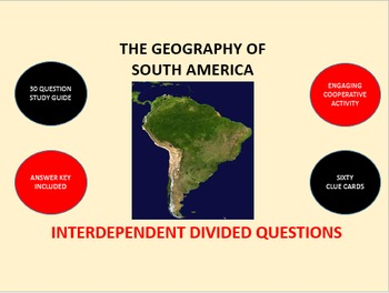 The Geography of South America: Interdependent Divided Que