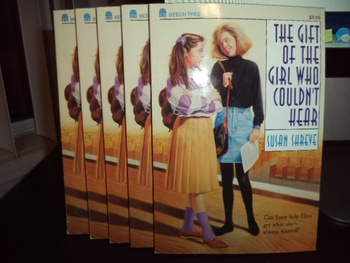 The  Gift of the Girl Who Couldn't Hear ISBN 0-688-11694-9