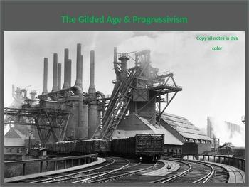 The Complete Gilded Age & Progressive Movement Complete Un