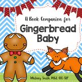 Gingerbread Baby Comprehension Book Companion