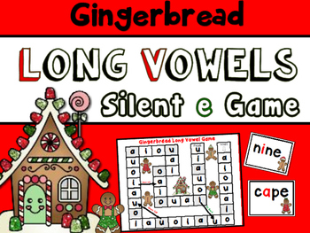 The Gingerbread Man Game for Long Vowels- Silent E