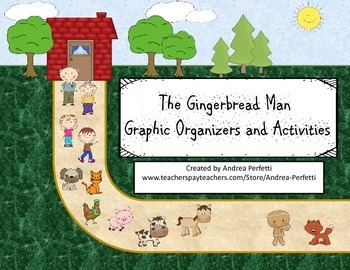The Gingerbread Man Graphic Organizers and Activities