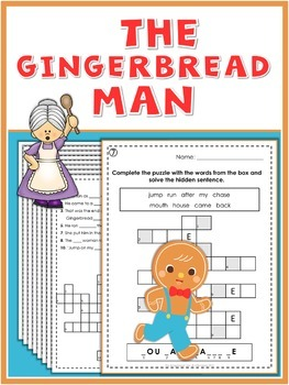 The Gingerbread Man  Puzzle Fun