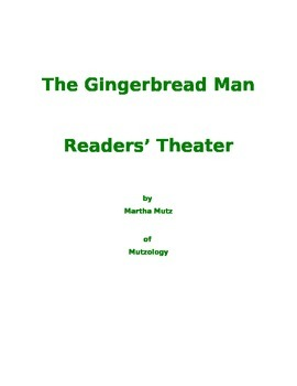The Gingerbread Man Readers' Theater