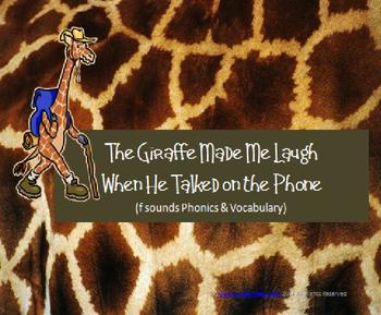 The Giraffe Made Me Laugh as He Talked on the Phone: ffe,g