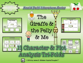 The Giraffe and the Pelly and Me Roald Dahl Character & Pl