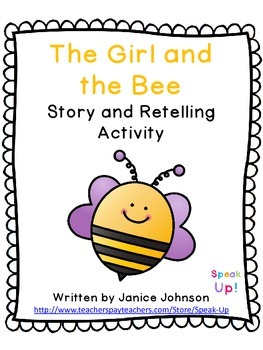 The Girl and the Bee Story and Retelling Activity {EFL, ES