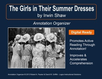 """The Girls in Their Summer Dresses"" by Irwin Shaw: Annotat"