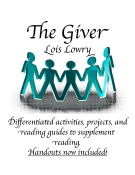 The Giver *BUNDLE*: Activities, Reading Guides, Vocab, Pro
