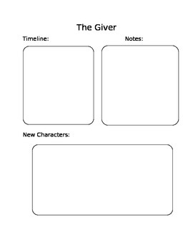 The Giver Chapter Notes Guide