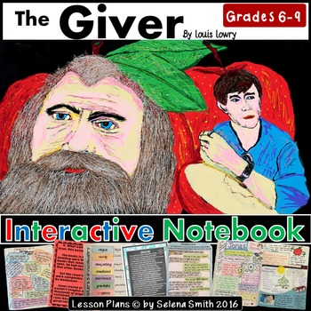The Giver Complete Interactive Notebook Unit