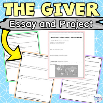 The Giver: Activity and Project
