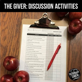 The Giver: Discussion Activities to Deepen your Unit