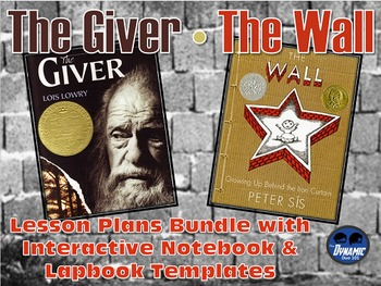 The Giver / The Wall Lesson Plans with Interactive Noteboo