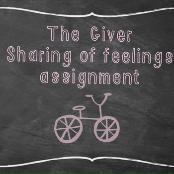 The Giver: The sharing of feelings ritual
