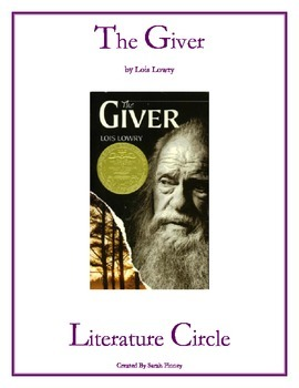 The Giver by Lois Lowry Literature Circle