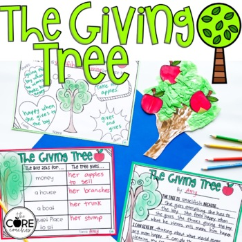 The Giving Tree Read-Aloud Lesson Plans and Activities