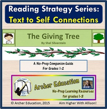The Giving Tree - Text to Self Connections Lesson