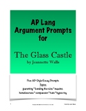 The Glass Castle Argument Prompts - AP Lang and Comp
