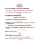 The Glass Menagerie Reading Quiz Scenes 1-3