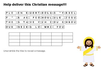 The Golden Rule Message Puzzle