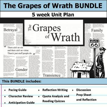 The Grapes of Wrath Unit Bundle