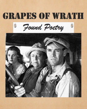 The Grapes of Wrath Found Poetry