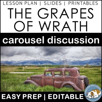 The Grapes of Wrath Pre-reading Carousel Discussion