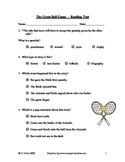 The Great Ball Game (Joseph Bruchac)~ Reading Quiz/Test ~