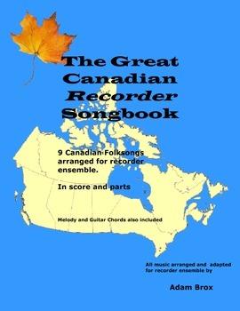 The Great Canadian Recorder Songbook + BONUS