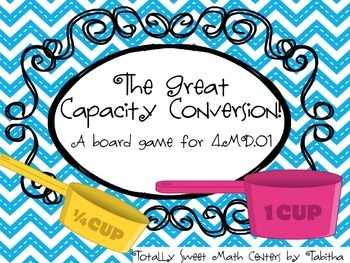 The Great Capacity Conversion Board Game! 4.MD.A.1