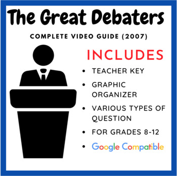 The Great Debaters - Complete Movie Guide & Debate Graphic