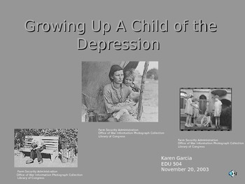 The Great Depression - An Overview