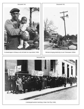 The Great Depression (Document Packet) (2 of 2)