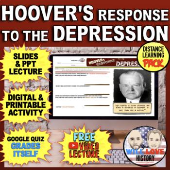 "The Great Depression: Hoover's ""Volunteerism"" Bundle"