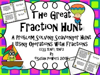 The Great Fraction Operations Scavenger Hunt