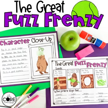 The Great Fuzz Frenzy Read-Aloud Activity