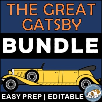 The Great Gatsby Activity Mini Bundle
