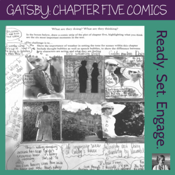 The Great Gatsby Chapter 5 Comic Strip Mini-Project, High