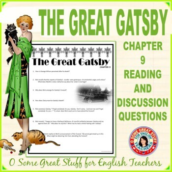 The Great Gatsby Chapter 9 Activity