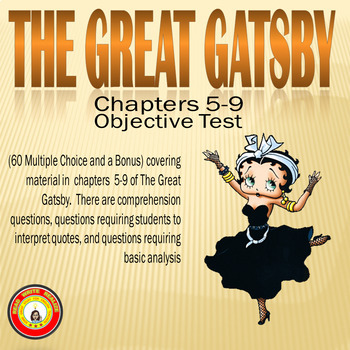 The Great Gatsby Chapters 5-9 Objective Test