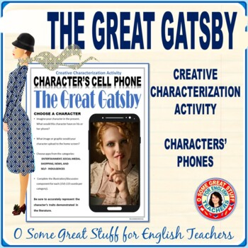 The Great Gatsby Characterization Cell Phone Activity--Gre
