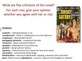The Great Gatsby Supplemental Essays and Stories