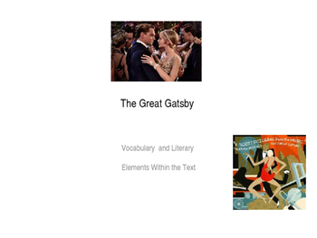 The Great Gatsby Vocabulary in Context