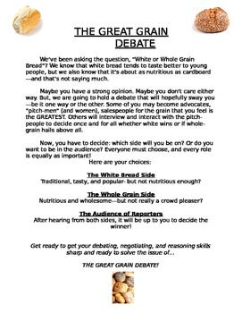 The Great Grain Debate- White Bread vs. Whole Grain Bread