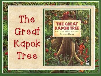 The Great Kapok Tree by Lynne Cherry PowerPoint Presentation