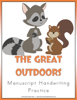 The Great Outdoors Handwriting Pack