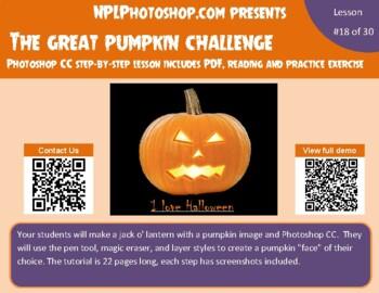 Great Pumpkin Challenge with Photoshop CS5/CS6 and CC vers