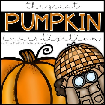 The Great Pumpkin Investigation {Student Journal}